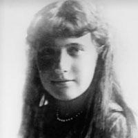 Photograph of Anastasia Romanov