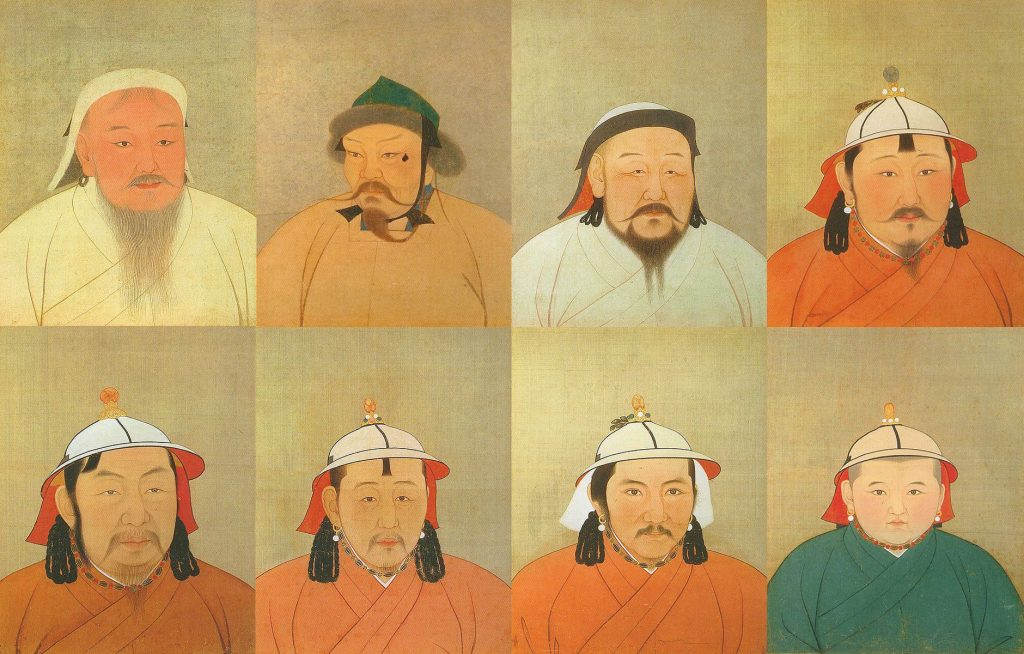 Khan's of the Mongol Empire