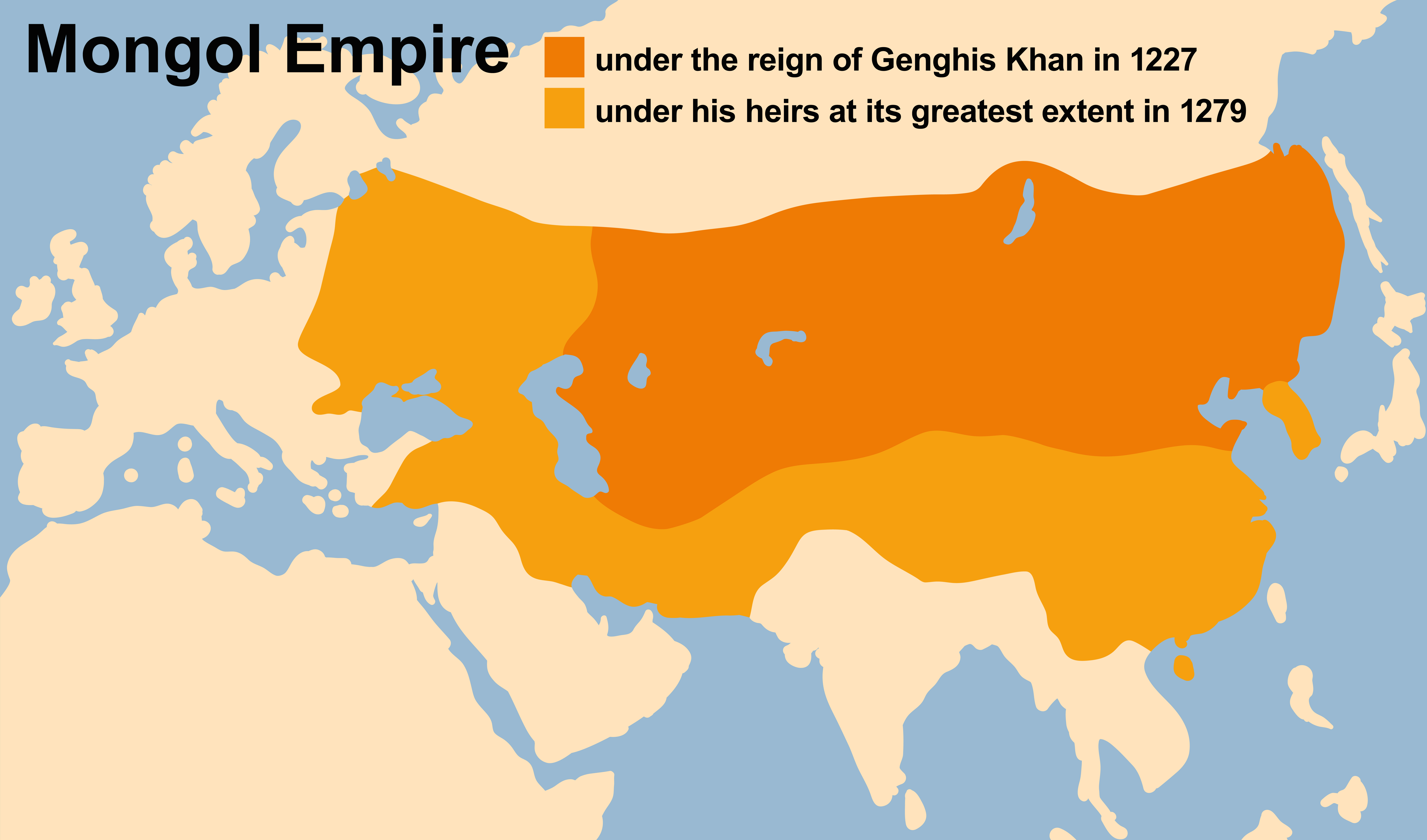 Genghiskhan-map | Did You Know DNA... on hulagu khan, vladimir lenin, khabul khan map, bruce lee, huns map, jack kevorkian, napoleon map, batu khan, mongol empire, mongol invasion of europe, ghengis khan map, marco polo map, jeanne d'arc, khan dynasty map, road trip map, amelia earhart map, ming dynasty, che guevara, robin hood map, golden horde, karl marx, kublai khan, great khan map, yuan dynasty, julius caesar map,