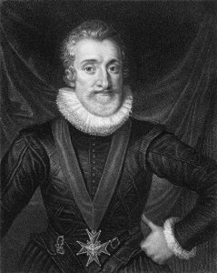 King Henry IV of the House of Bourbon