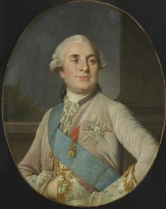 Portrait of King Louis XVI of the House of Bourbon