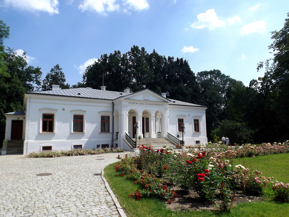 Kochanowski's mansion, now a museum celebrating his life