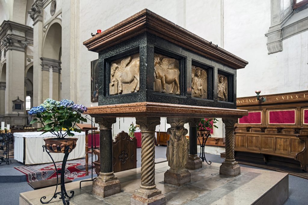 Reliquary of Luke the Evangelist