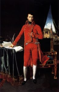 Bonaparte, First Consul, by Ingres