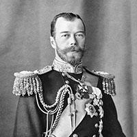 Photograph of Tsar Nicholas II