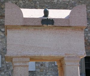Petrarch's tomb at Arquà Petrarca
