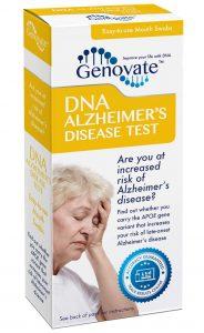 DNA Alzheimer's Disease Test box