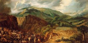 The First Battle of Acentejo, Tenerife