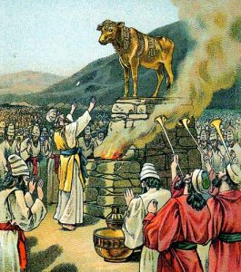 Worshipping the Golden Calf