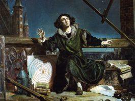 Drawing of Copernicus
