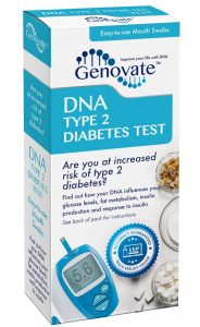 DNA Type 2 Diabetes Test box