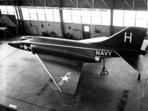 The McDonnell F3H-G/H mockup, 1954