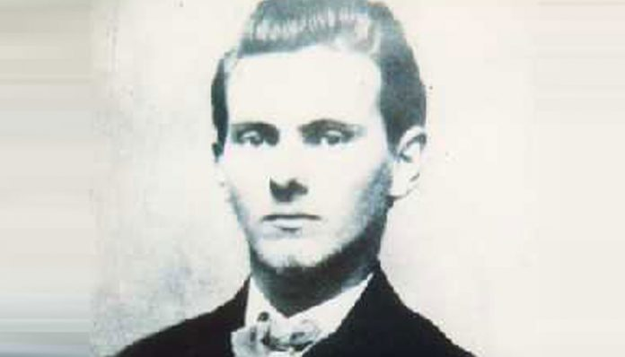Portrait of Jesse James
