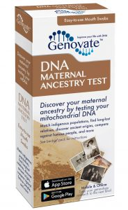 DNA Maternal Ancestry Test box