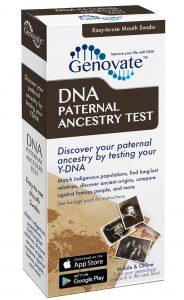 DNA Paternal Ancestry Test box