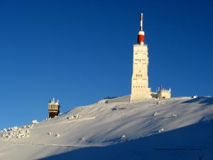Mount Ventoux in winter