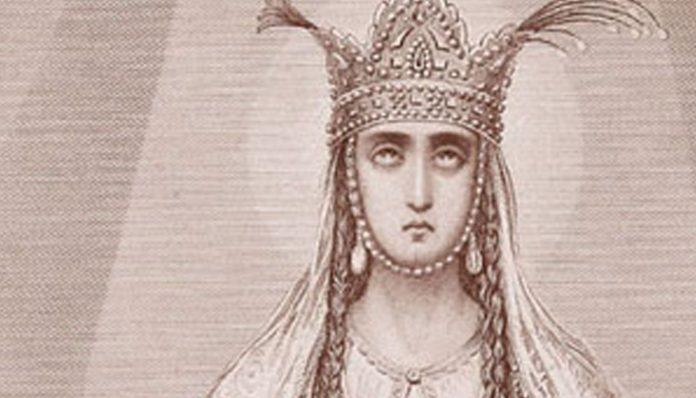 Portrait of Queen Ketevan