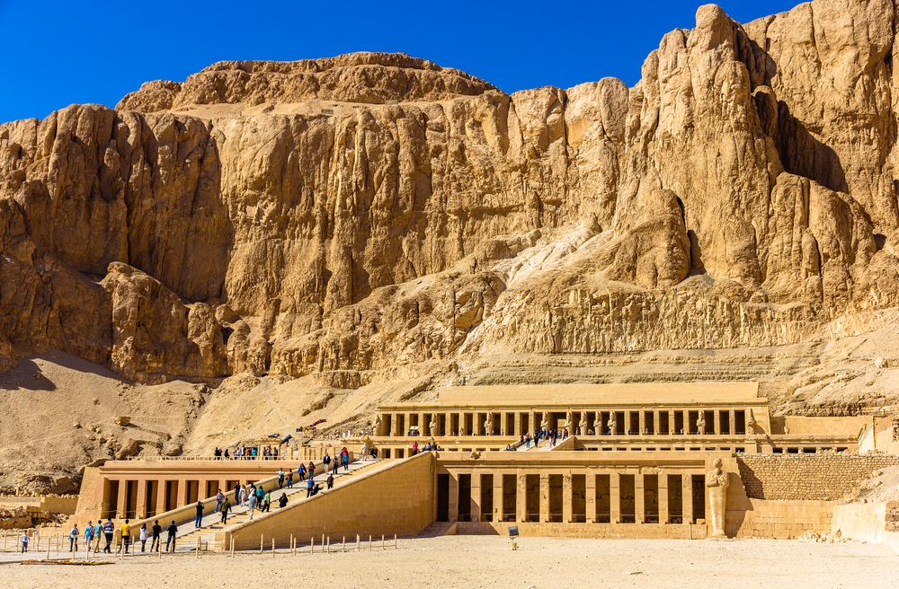 Mortuary temple of Hatshepsut in Deir el-Bahari