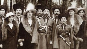Formal photograph of the Romanovs
