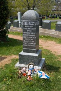 """Grave of the """"Unknown Child"""""""